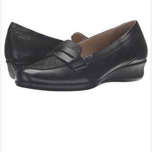 Ecco Abelone Wedge Leather Loafer